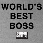 The Office World's Best Boss Hooded Sweatshirt