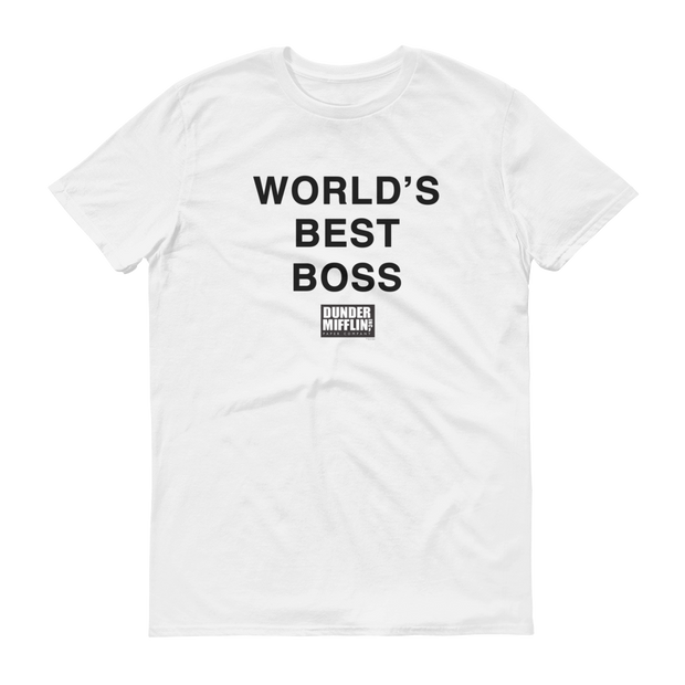 The Office World's Best Boss Men's Short Sleeve T-Shirt