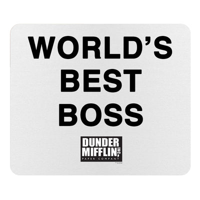 The Office World's Best Boss Mouse Pad