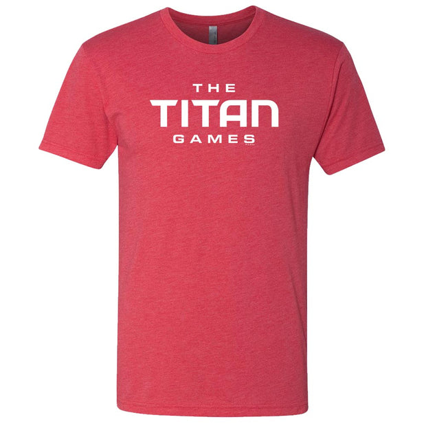 The Titan Games Logo Men's Tri-Blend Short Sleeve T-Shirt
