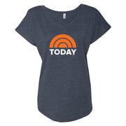 TODAY Women's Tri-Blend Dolman T-Shirt