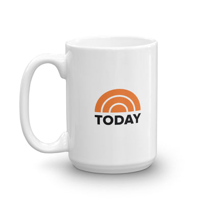 TODAY Logo 15 oz White Mug
