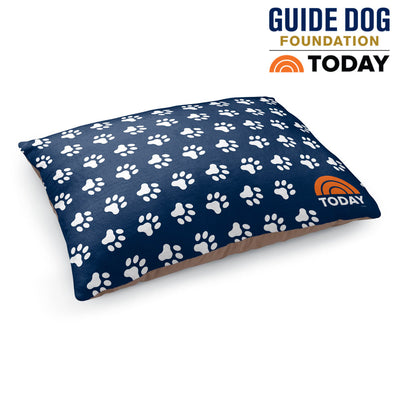 TODAY Paw Print Dog Bed
