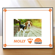 TODAY Pet Personalized Horizontal Picture Frame