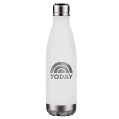 Today Logo 17 Oz Stainless Steel Slim Water Bottle