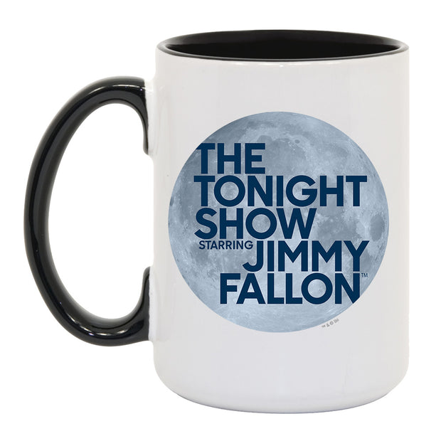 The Tonight Show Starring Jimmy Fallon White and Black Mug