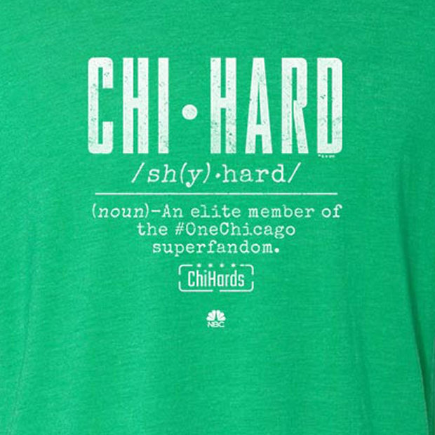 Chi-Hards Definition St. Paddy's Day Women's T-Shirt