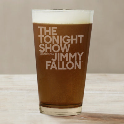 The Tonight Show Starring Jimmy Fallon Pint Glass