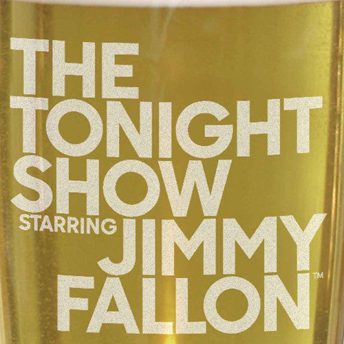 The Tonight Show Starring Jimmy Fallon Pilsner Glass