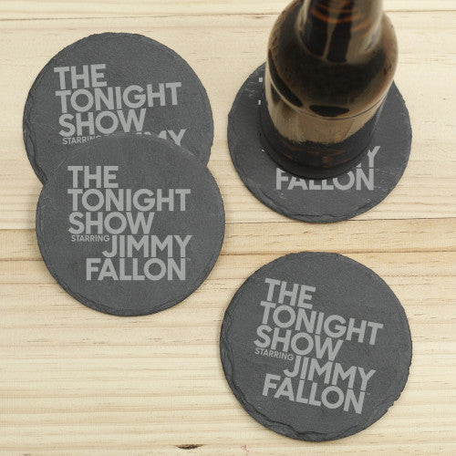 The Tonight Show Starring Jimmy Fallon Slate Coasters