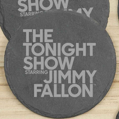 The Tonight Show Starring Jimmy Fallon Slate Coasters-secondary-image
