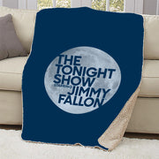 The Tonight Show Starring Jimmy Fallon Sherpa Throw Blanket