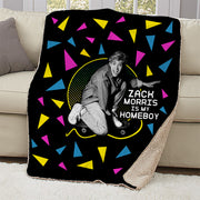 Saved By The Bell Zack Morris is my Homeboy Sherpa Blanket