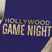 Hollywood Game Night Sherpa Throw Blanket