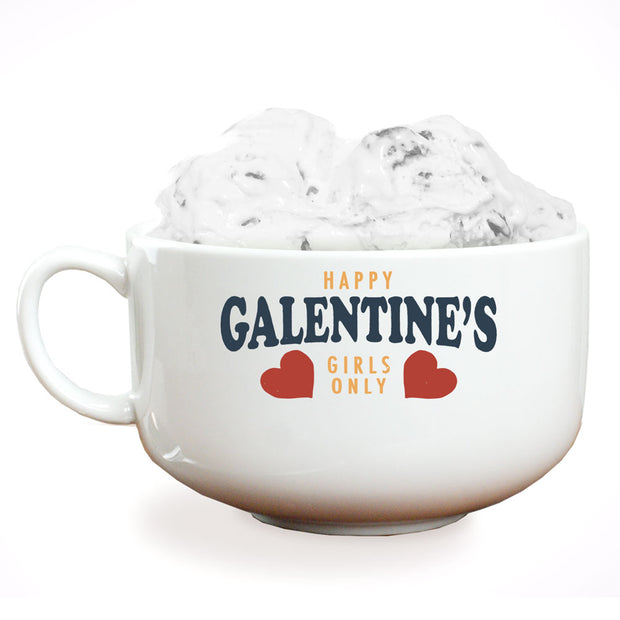 Parks and Recreation Happy Galentine's Girls Only Ice Cream Bowl