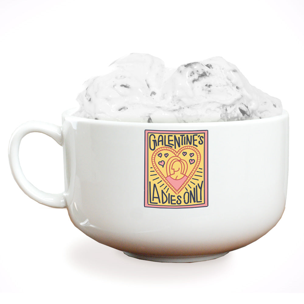 Parks and Recreation Galentine's Ladies Only Ice Cream Bowl-secondary-image