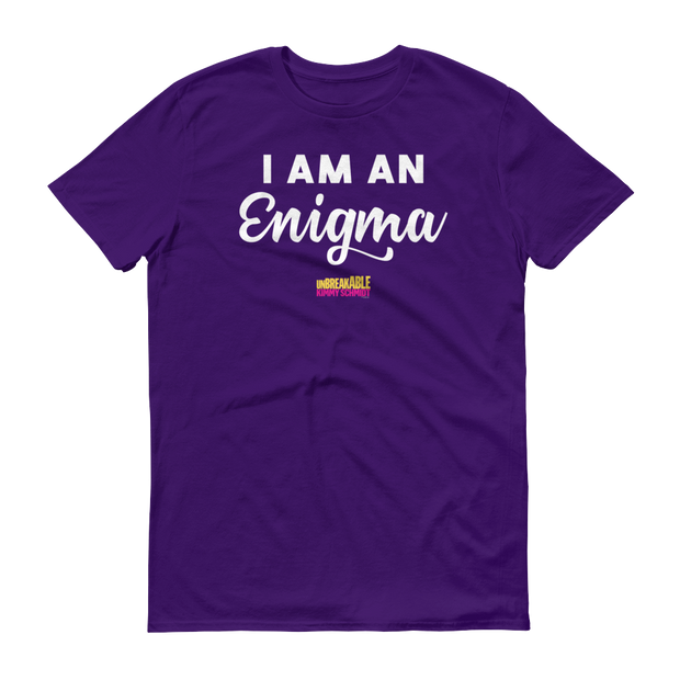 Unbreakable Kimmy Schmidt I am an Enigma Men's Short Sleeve T-Shirt