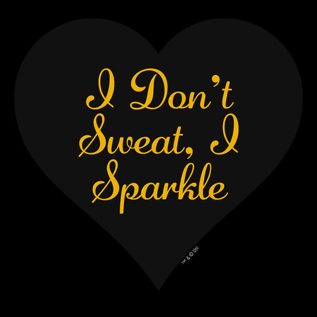 Unbreakable Kimmy Schmidt I Don't Sweat  I Sparkle Zip Up Sweatshirt