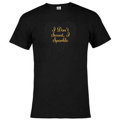 Unbreakable Kimmy Schmidt I Don't Sweat  I Sparkle Men's Short Sleeve T-Shirt