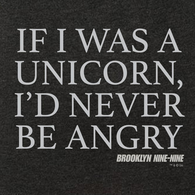 Brooklyn Nine-Nine If I was a Unicorn Women's Tri-Blend Short Sleeve T-Shirt