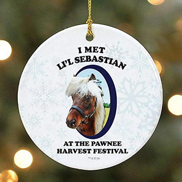 Parks and Recreation I Met Li'l Sebastian Ornament