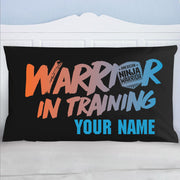 Personalized Warrior In Training Pillow Case