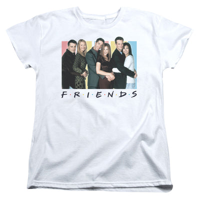 Friends Cast Women's Short Sleeve T-Shirt
