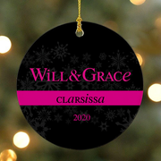 Personalized Will & Grace Ornament