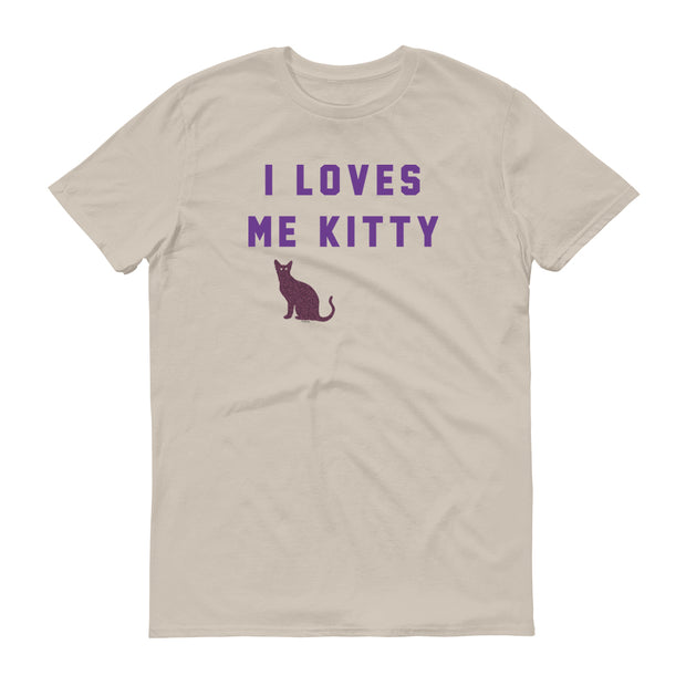 Will & Grace I Loves Me Kitty Men's Short Sleeve T-Shirt