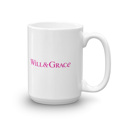 Will & Grace Logo White Mug