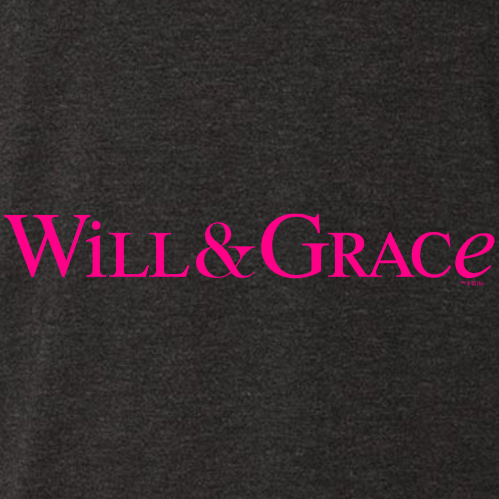 Will & Grace Logo Women's Tri-Blend Dolman T-Shirt-secondary-image