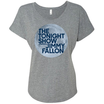 The Tonight Show Starring Jimmy Fallon Women's Tri-Blend Dolman