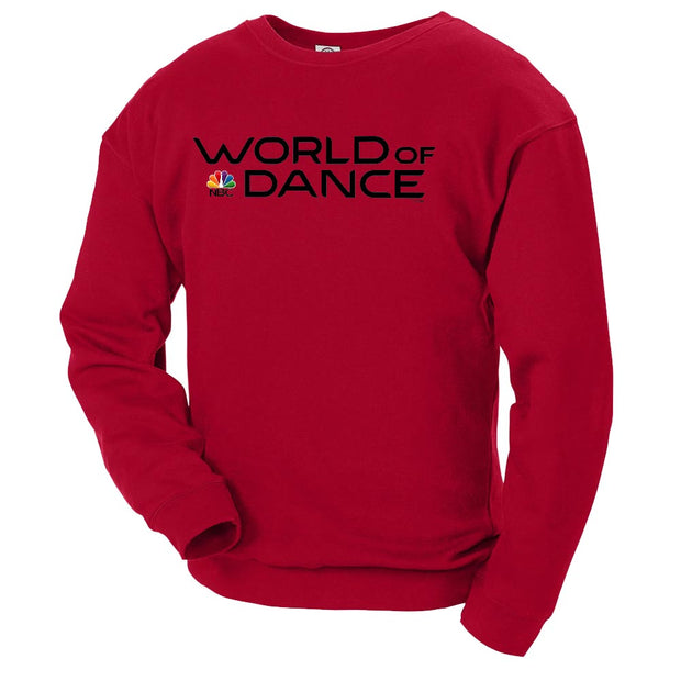 World of Dance Logo Crew Neck Sweatshirt