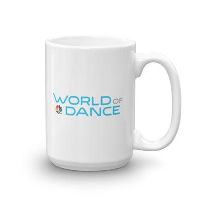 World of Dance White Mug