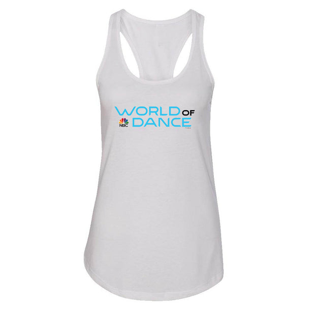 World of Dance Logo Women's Racerback Tank Top