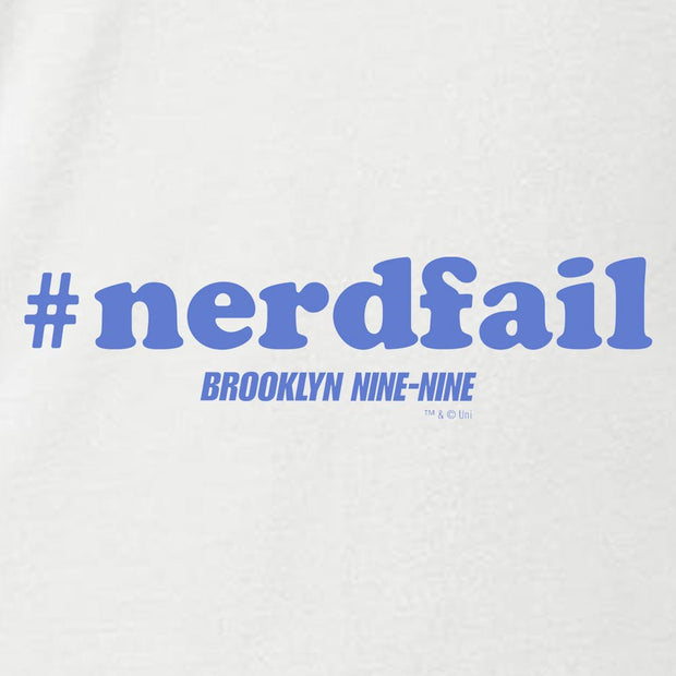 Brooklyn Nine-Nine #nerdfail Women's Relaxed Scoop Neck T-Shirt