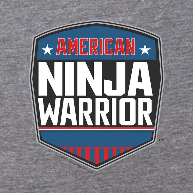 American Ninja Warrior Logo Women's Tri-Blend Short Sleeve T-Shirt