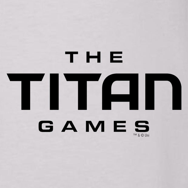 The Titan Games Logo Women's Relaxed Scoop Neck T-Shirt