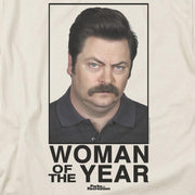 Parks and Recreation Woman of The Year Short Sleeve T-Shirt
