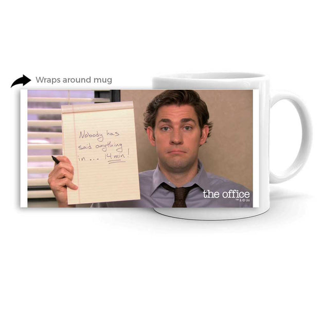 The Office Nobody has said anything White Mug