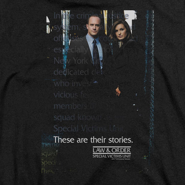 Law & Order: SVU Black Heather Short Sleeve T-Shirt