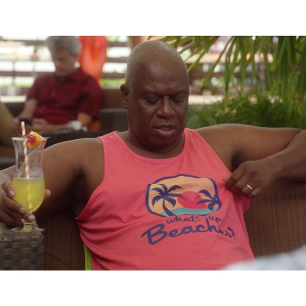 Brooklyn Nine-Nine Captain Holt's What's Up Beaches Unisex Tank Top