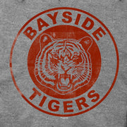 Saved By The Bell Bayside Tigers Lightweight Zip Up Hooded Sweatshirt