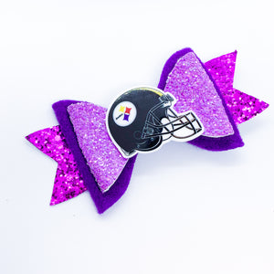 Pittsburgh Football Bow Set
