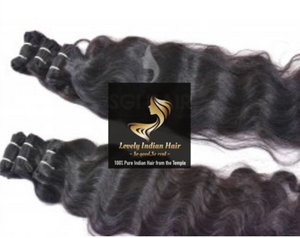 100% Pure Indian Hair Bundles - Body Wave