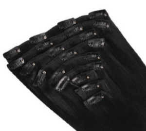 Full Set - 100% Pure Indian Human Hair Clip-in Extentions