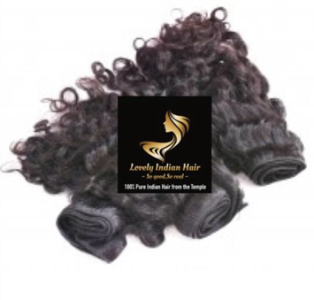 100% Pure Indian Hair Budles - Curly