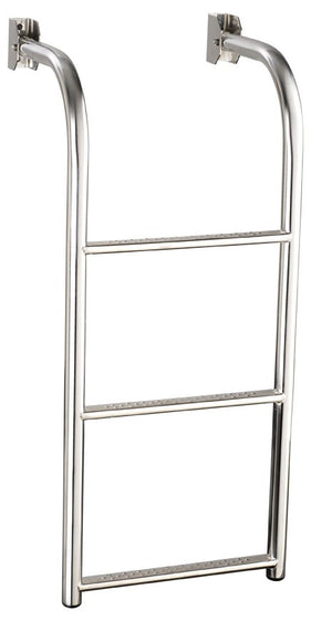 Stainless Steel 90 degree bent platform ladder