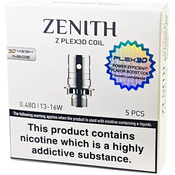 Innokin Zenith 0.48ohm 13-16w pack of 5
