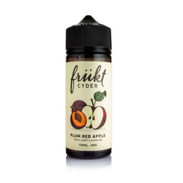 Frukt Cyder Plum Red Apple100ml s/fill